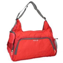 Červená cestovná taška