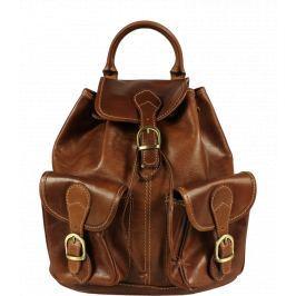 Kožený batôžtek Alida Marrone Opalo