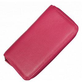 Kožená peňaženka WB005 Fuxia