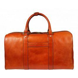 Cestovná kožená taška Egisto Camel