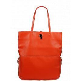 f884ad2fa3 Detail · Talianská kožená kabelka Luana Arancione