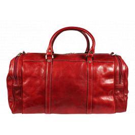 Kožená cestovná taška Saba Rossa