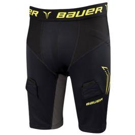 Šortky so suspenzorom Bauer Premium Compression Yth
