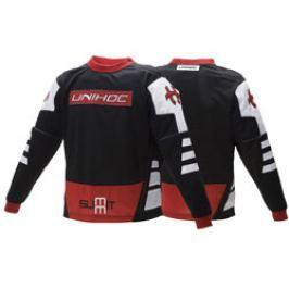Florbalový brankársky dres Unihoc Summit Black/Red