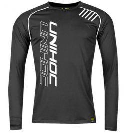 Tričko Unihoc Warm-Up Longsleeve Čierne