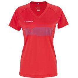 Dámske tričko Tecnifibre F2 Airmesh Red 2017
