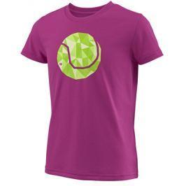 Dievčenské tričko Wilson Tech Tee Berry