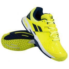 Juniorská tenisová obuv Babolat Propulse All Court Jr Yellow Blue 13dde32a0d