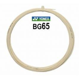 Bedmintonový výplet Yonex Micron BG65 White (0.70 mm) - strihaný (10.0 m)