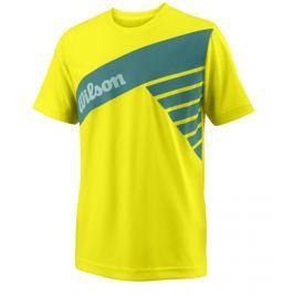 Detské tričko Wilson Slant Safety Yellow