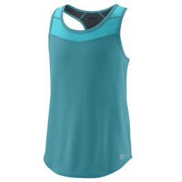 Dievčenské tričko Wilson Uwii Tank Bluebird