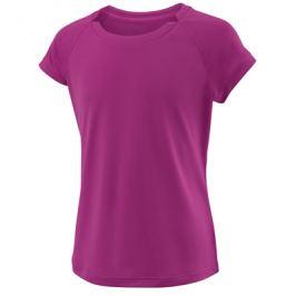 Dievčenské tričko Wilson Cap Sleeve Berry