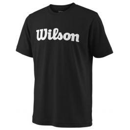 Detské tričko Wilson Team Script Black