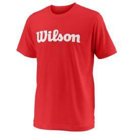 Detské tričko Wilson Team Script Red