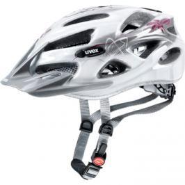 Cyklistická prilba Uvex Onyx Lady Line bielo-červená