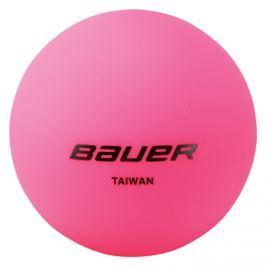 Hokejbalová loptička Bauer Cool Pink - 4 ks