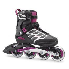 Kolieskové korčule Rollerblade Spark 84 W Black/Purple