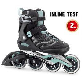 Kolieskové korčule Rollerblade Spark 90 W Black/Blue