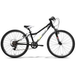 Detský bicykel Amulet TEAM 24 2016 čierny + DARČEK