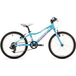 Bicykel Rock Machine 20 Catherine 20 blue/magenta/white + DARČEK