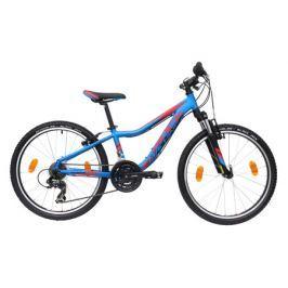 Bicykel Rock Machine 24 Surge 24 blue/ red /black + DARČEK