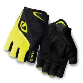 GIRO rukavice BRAVO-black/highlight yellow