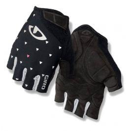 Dámske cyklistické rukavice GIRO Jag'ette čierne