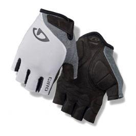 Dámske cyklistické rukavice GIRO Jag'ette bielo-titánové