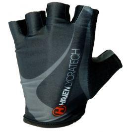 Cyklistické rukavice HAVEN Lycratech čierno-šedé