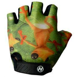 Detské cyklistické rukavice HAVEN Dream Frog