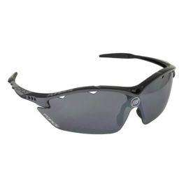 Cyklistické okuliare Force RON čierne, čierna laser sklá