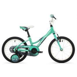 Detský bicykel Rock Machine 16 Catherine 16 zelené 2017 + DARČEK
