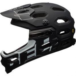 Cyklistická prilba BELL Super 3R MIPS matná čierna - biela