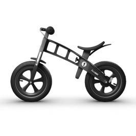Detské odrážadlo First Bike Limited Edition čierne