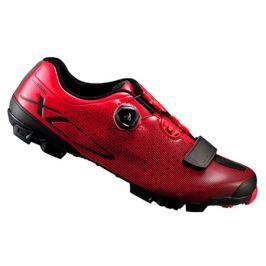 Cyklistické tretry Shimano SH-XC7 červené
