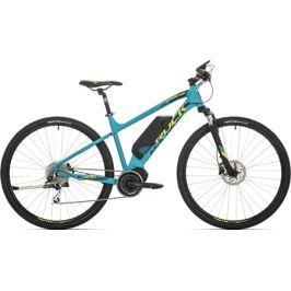 Elektrobicykel Rock Machine Ebike CrossRide E500 petrolejovo modrý
