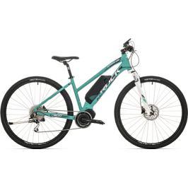 Elektrobicykel Rock Machine ebike CrossRide E500 Lady mätovo zelený 2018