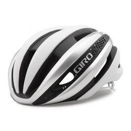 Cyklistická prilba GIRO Synthe matná biela-strieborná