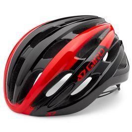 Cyklistická prilba GIRO Foray červená-čierna