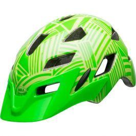 Detská cyklistická prilba BELL SideTrack Youth lesklá zelená kryptonite