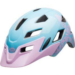 Detská cyklistická prilba BELL SideTrack Child lesklá lilac flutter