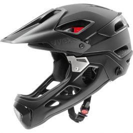Cyklistická prilba Uvex Jakkyl HDE čierna-tmavo strieborná matná