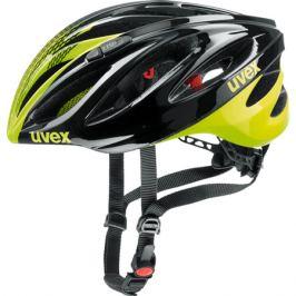 Cyklistická prilba Uvex Boss Race čierna-neónovo žltá