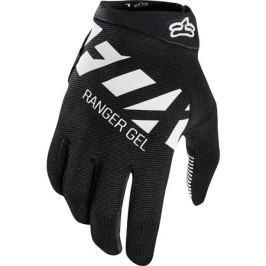 Dlhoprsté cyklistické rukavice Fox Ranger Gel čierno-biele