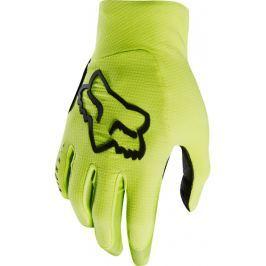 Dlhoprsté cyklistické rukavice Fox Flexair žlto-čierne