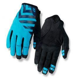 Dlhoprsté cyklistické rukavice GIRO DND čierno-modré