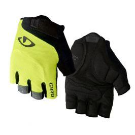 Cyklistické rukavice GIRO Bravo čierno-žlté