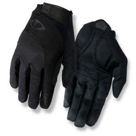 Dlhoprsté cyklistické rukavice GIRO Bravo LF čierne