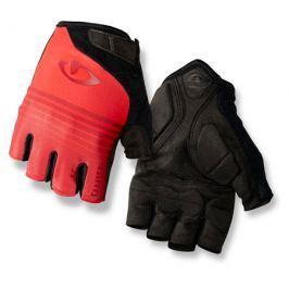 Cyklistické rukavice GIRO Jag čierno-červené