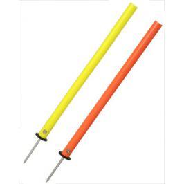 Slalomová tyč GUMMY s oceľovým bodcom 55 cm Liski